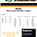 Indoor league in Stockton: Jan-Mar 2014